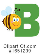 Bee Clipart #1651239 by Hit Toon
