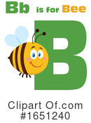 Bee Clipart #1651240 by Hit Toon