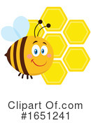 Bee Clipart #1651241 by Hit Toon