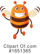 Bee Clipart #1651365 by Morphart Creations