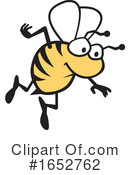 Bee Clipart #1652762 by Johnny Sajem