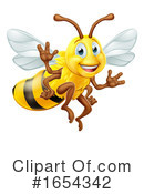 Bee Clipart #1654342 by AtStockIllustration