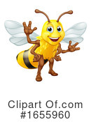 Bee Clipart #1655960 by AtStockIllustration