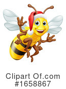 Bee Clipart #1658867 by AtStockIllustration