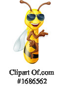 Bee Clipart #1686562 by AtStockIllustration