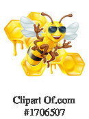 Bee Clipart #1706507 by AtStockIllustration