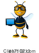 Bee Clipart #1713213 by Julos