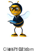 Bee Clipart #1713216 by Julos