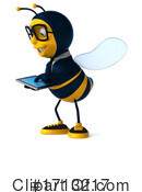 Bee Clipart #1713217 by Julos