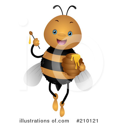 Bee Clipart #210121 by BNP Design Studio