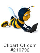 Bee Clipart #210792 by Julos