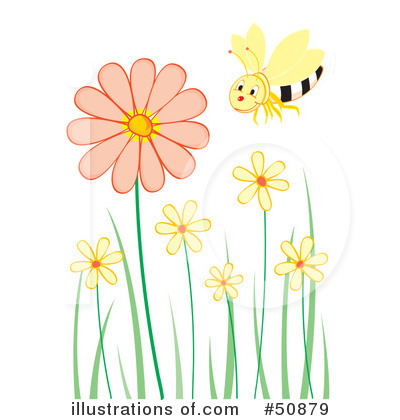 Flowers Clipart #50879 by Cherie Reve