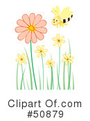 Royalty-Free (RF) Bee Clipart Illustration #50879