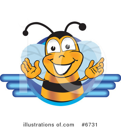 Bee Clipart #6731 by Toons4Biz