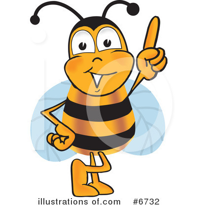 Bee Clipart #6732 by Toons4Biz