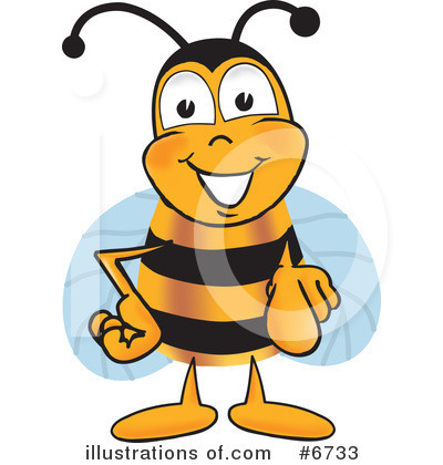 Bee Clipart #6733 by Toons4Biz
