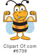 Bee Clipart #6738 by Toons4Biz