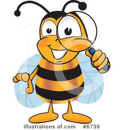 Bee Clipart #6739 by Toons4Biz