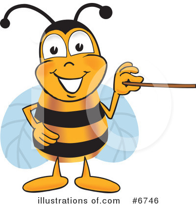 Bee Clipart #6746 by Toons4Biz