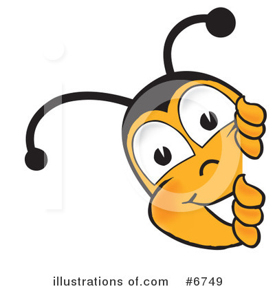 Bee Clipart #6749 by Toons4Biz