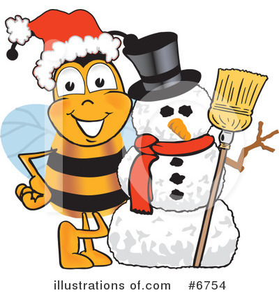 Bee Clipart #6754 by Toons4Biz
