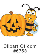 Bee Clipart #6758 by Toons4Biz