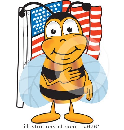 Bee Clipart #6761 by Toons4Biz