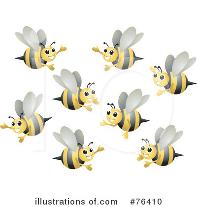 Bee Clipart #76410 by BNP Design Studio