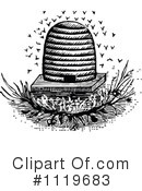 Bee Hive Clipart #1119683