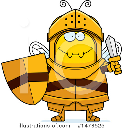 Knight Clipart #1478525 by Cory Thoman