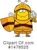 Bee Knight Clipart #1478525 by Cory Thoman