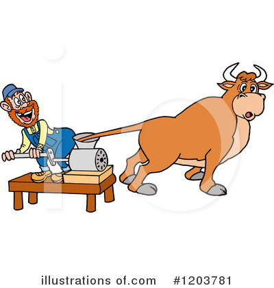 Hillbilly Clipart #1203781 by LaffToon