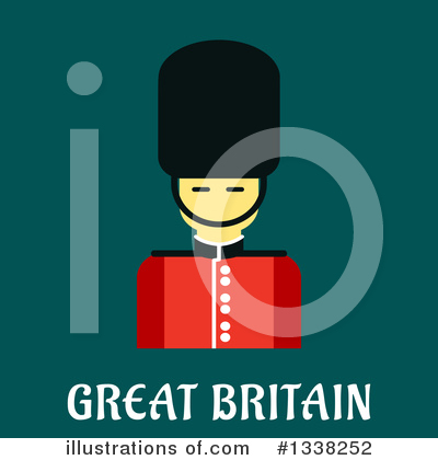 Beefeater Clipart #1338252 by Vector Tradition SM