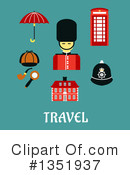 Beefeater Clipart #1351937 by Vector Tradition SM