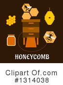 Beekeeping Clipart #1314038 by Vector Tradition SM