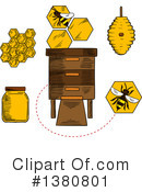 Beekeeping Clipart #1380801 by Vector Tradition SM