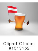Beer Character Clipart #1319162