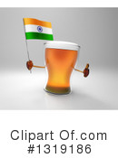 Beer Character Clipart #1319186 by Julos