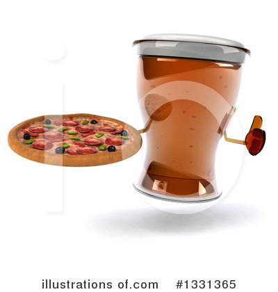 Pizza Clipart #1331365 by Julos