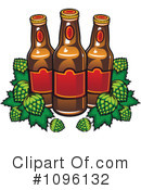 Royalty-Free (RF) Beer Clipart Illustration #1096132