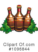 Royalty-Free (RF) Beer Clipart Illustration #1096844