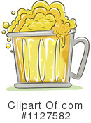Royalty-Free (RF) Beer Clipart Illustration #1127582