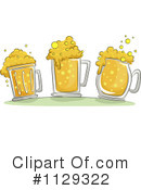 Royalty-Free (RF) beer Clipart Illustration #1129322