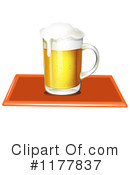 Royalty-Free (RF) Beer Clipart Illustration #1177837