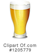 Royalty-Free (RF) Beer Clipart Illustration #1205779
