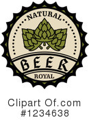 Royalty-Free (RF) Beer Clipart Illustration #1234638