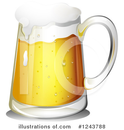 Beer Clipart #1243788 by Graphics RF