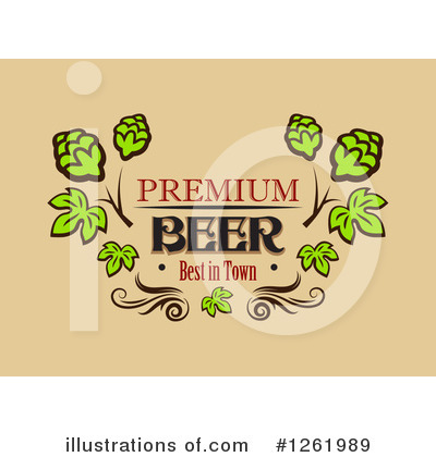 Hops Clipart #1261989 by Vector Tradition SM