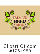 Royalty-Free (RF) Beer Clipart Illustration #1261989
