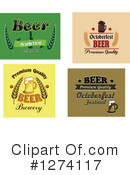 Royalty-Free (RF) Beer Clipart Illustration #1274117